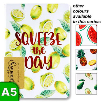 A5 192 Page Fruits Design Journal by I Love Stationery