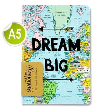 A5 192 Pages Big Dream Journal by I Love Stationery