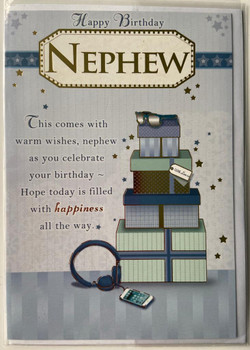 Nephew Soft Whispers Sentimental Verse Birthday Card