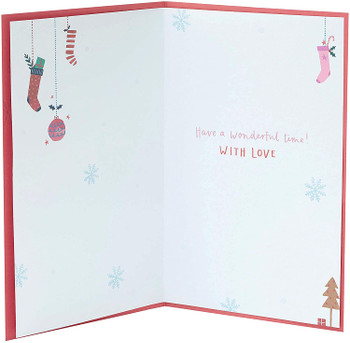 Christmas Card for Goddaughter Cute Christmas Jumper Design
