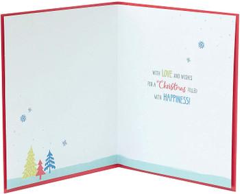 Christmas Card for Grandad Festive Lettering Design