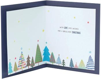 Christmas Card for Son Festive Christmas Tree Design