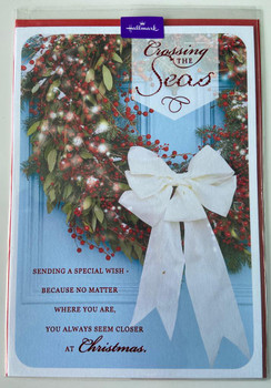 Crossing The Seas Christmas Card Across The Miles