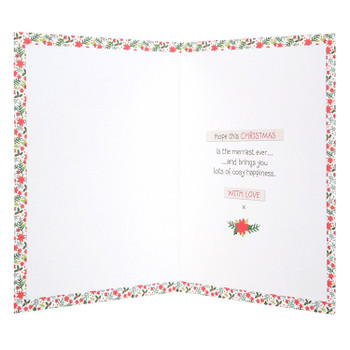 Forever Friends Nan & Grandad Card 'Cosy Happiness'