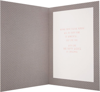 """""""Someone Special"""" Christmas Card with Glitter Finish"""