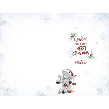 To a Very Special Aunty Tatty Teddy Decorating Wall Design Christmas Card