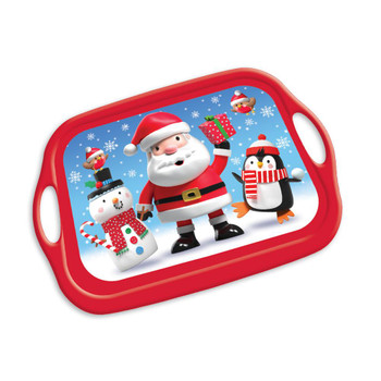 Christmas Characters Design Melamine Tray