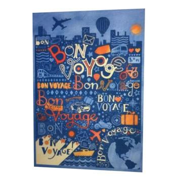 Bon Voyage Goodbye Farewell.Enjoy! New Hallmark Greeting Card