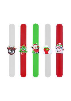 Christmas Snap Bracelets with Print