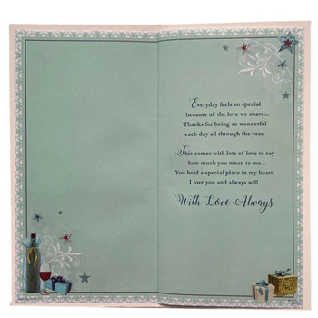 Sensations Happy Birthday to My Boyfriend With Love Soft Whispers Card