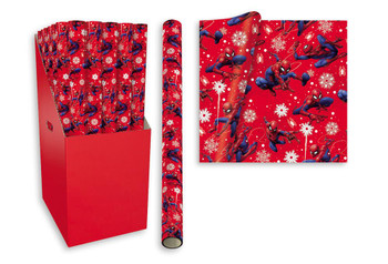 3m Ultimate Spiderman Design Christmas Gift Wrapping Paper