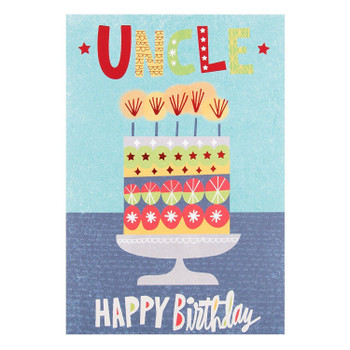 Uncle Birthday Card 'Special Day'