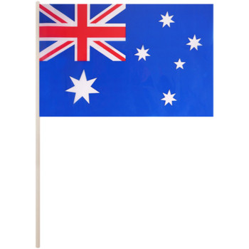 Australia Pvc Hand Flag with 40cm Stick