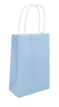 Baby Blue Bag with Handle