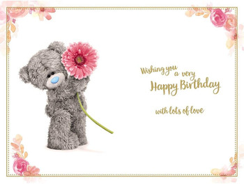 3D Holographic Hologram Birthday Card For Daughter