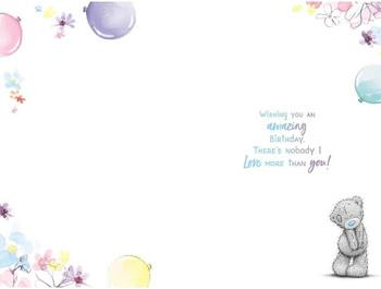 Girlfriend Birthday Card Bear With CupCake
