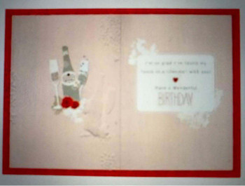 For My Partner on Your Birthday Hallmark Card Love
