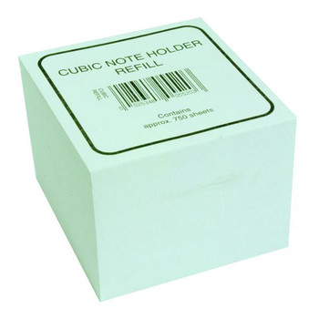 Cubic Note Holder Memo Box Refill 750 Sheets
