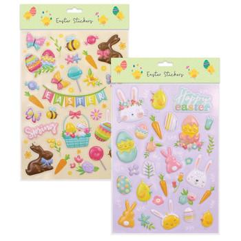 Easter Large Bubble Sticker Set