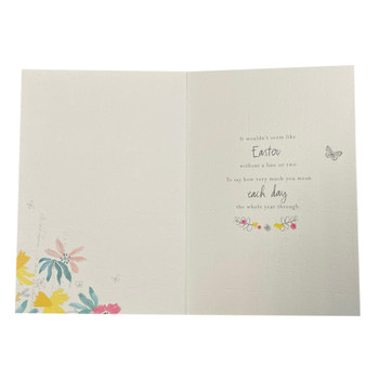 Easecially For You Gold Foil Finished Easter Card