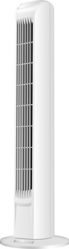 """32"""" White Oscillating Tower Fan"""