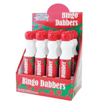 Box of 12 Large 'Red' Bingo Dotter