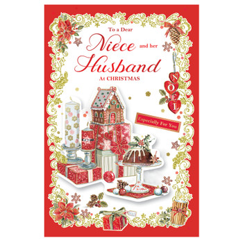 To a Dear Niece and Her Husband Especially For You Beautiful Christmas Card