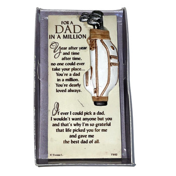 A Dad In A Million Timeless Words Plaque