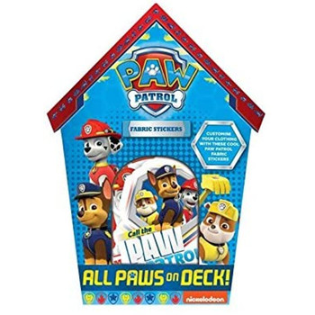 Paw Patrol Design Fabric Stickers