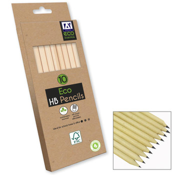 Pack of 10 ECO HB Pencils