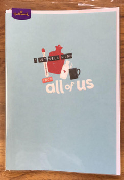 Get Well From All of Us Humour Card