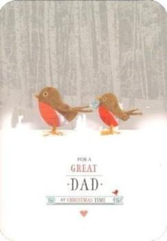 Robbin Couple Great Dad Christmas Card