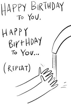 Humour Covid Lockdown Self-isolation Birthday Card