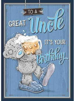 Me to You to A Great Uncle Birthday Card