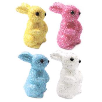 Tinsel Rabbit Easter Decoration