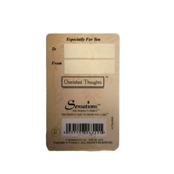 Good luck Wallet Card (Sentimental Keepsake Wallet / Purse Card)