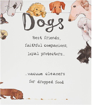 For Best Friend Funny Dogs Humour Birthday Card