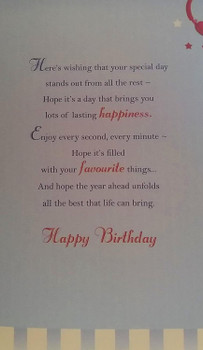Happy Birthday Brother Special Wishes Card