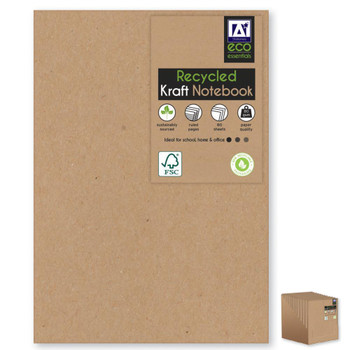 A5 Recycled Kraft Softcover Notebook