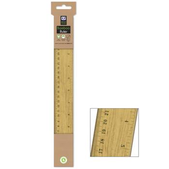 30cm Bamboo Ruler