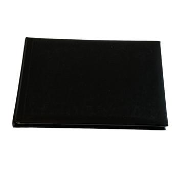 12 x Plain Cover Black Autograph Books by Janrax - Signature End of Term School Leavers