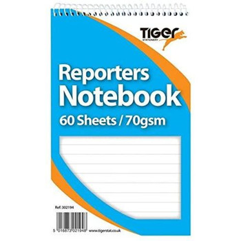 Spiral Reporters 60 Sheets Notebook