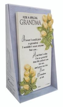 For A Special Grandma Timeless Words Plaque