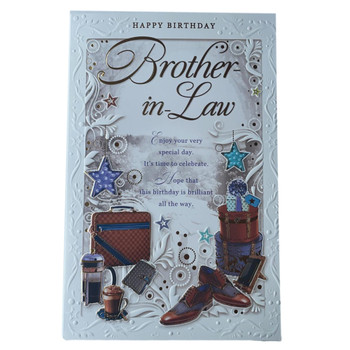 Brother In Law On Your Birthday Opacity Card