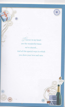 With Love to My Husband On Your 50th Birthday Opacity Card