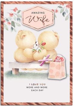 Forever Friends To My Wife Birthday Card