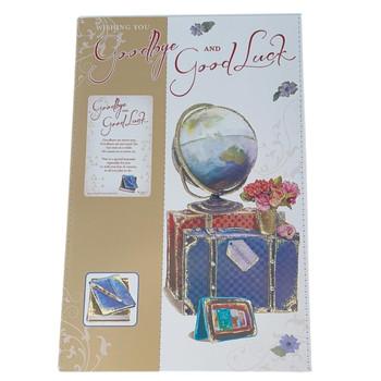 Good Bye And Good Luck Keepsake Treasures Congratulations Card