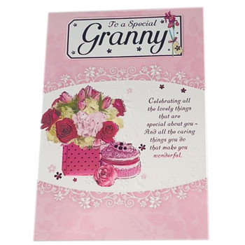 To a Special Granny Soft Whispers Greeting Card