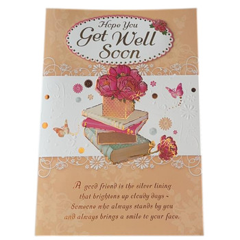 Hope You Get Well Soon Soft Whispers Card