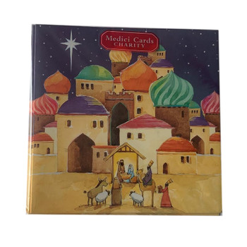 Pack of 8 'At the Stable' Design Charity Christmas Cards